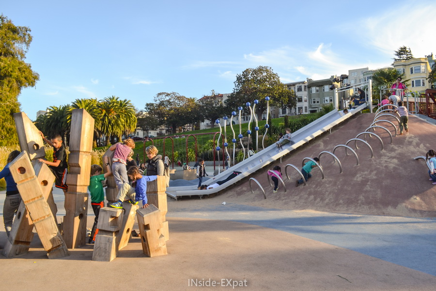 Helen Diller Playground, Dolores Park