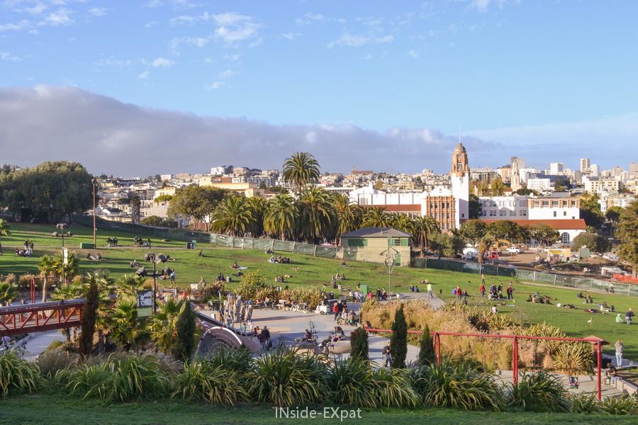 Helen Diller Playground, au coeur de SF