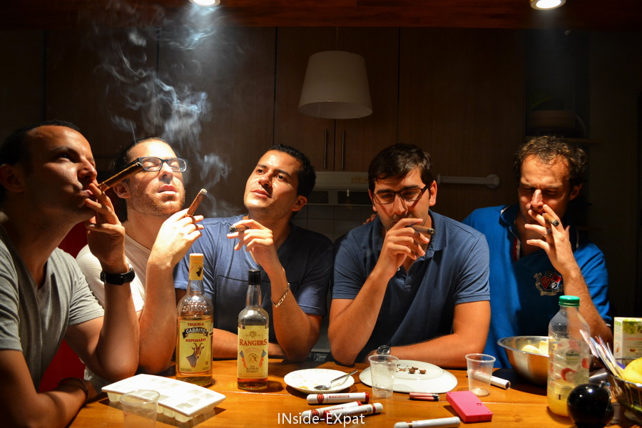 Soirée cigares