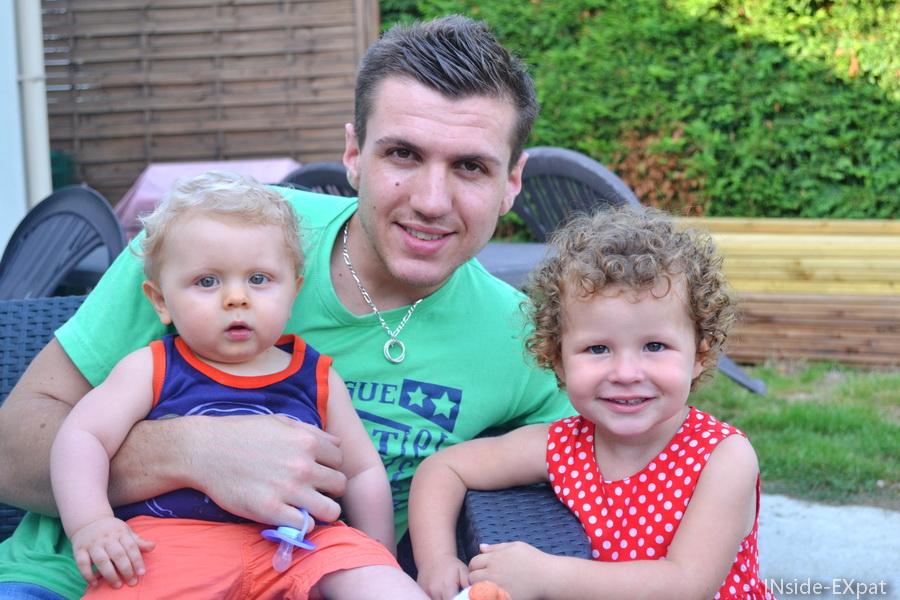 Avec Bro A et son petit L