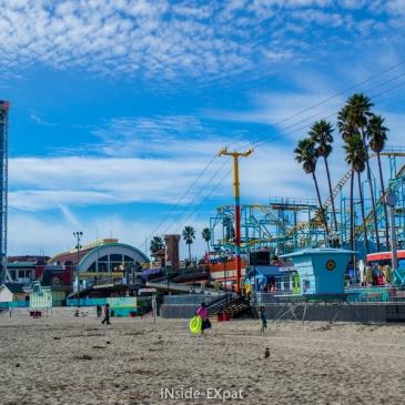 Beach Boardwalk & Natural Bridges State Beach (Santa Cruz, CA)