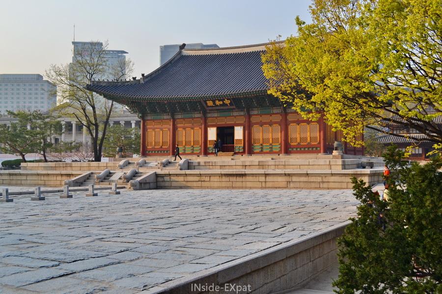 Un palais à Séoul