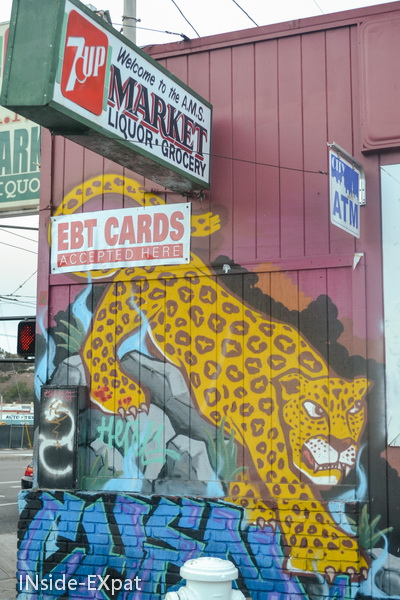 Tag sur les murs de San Francisco