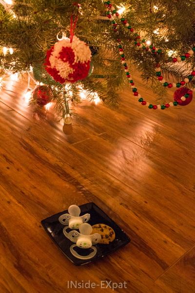 Laisser les tétines au Père Noel