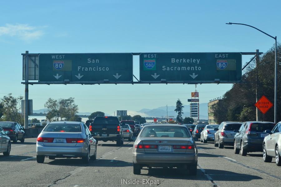 "Panneau ""Berkeley-Sacramento"""