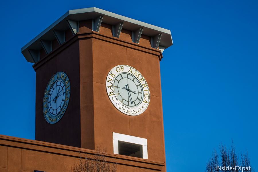 Horloge Bank of America