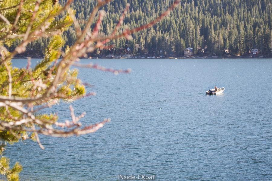 Pêcher sur le donner lake