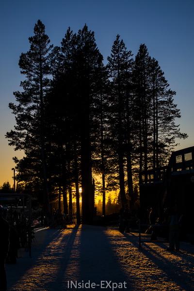 Coucher de soleil à Boreal