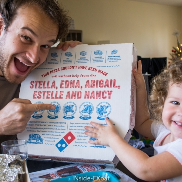 Fun Facts #1 – Les boites de Domino's Pizza
