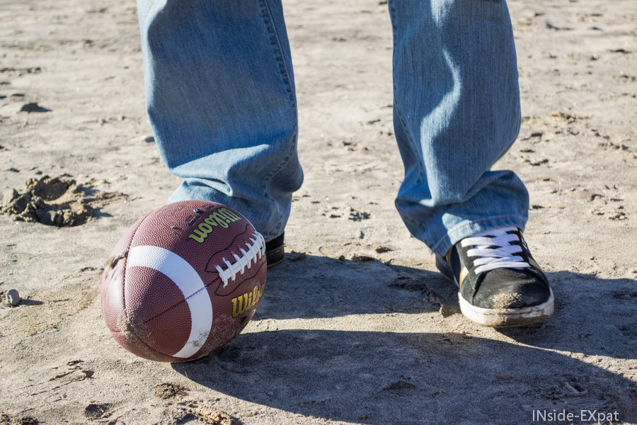 Le ballon de foot de J-L