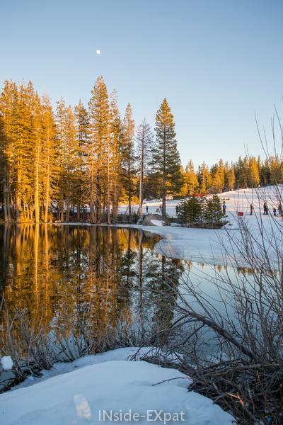 Paysage d'hiver en Californie