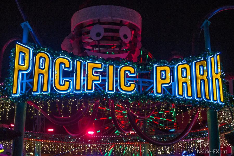 Entrée du Pacific Park