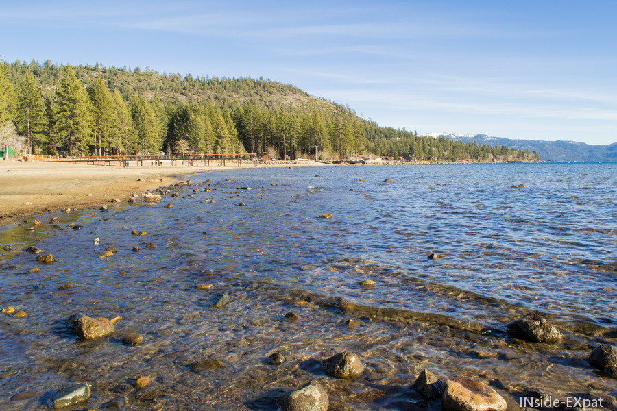 Le lac Tahoe à Kings Beach