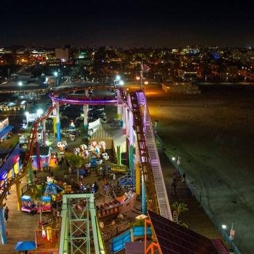 So cool So-Cal – Jour 2 (2/2) : Une soirée au Santa Monica Pier (Los Angeles, CA)