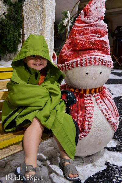 Snowman in Antartica Trails, Ocean Park, Manila
