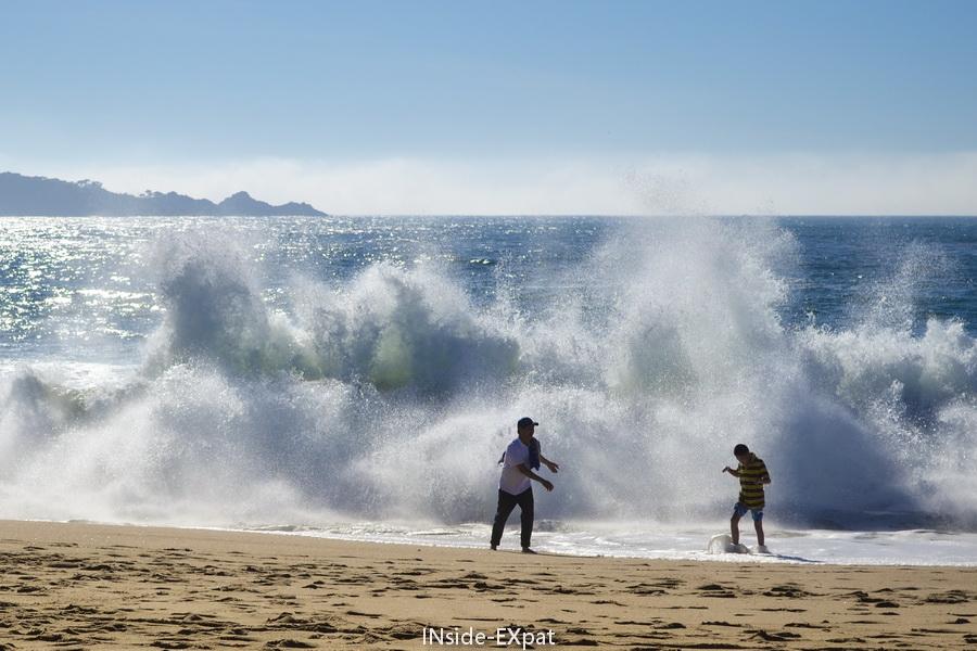 Les vagues gigantesques
