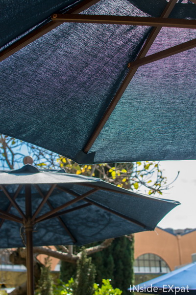 Parasols du patio