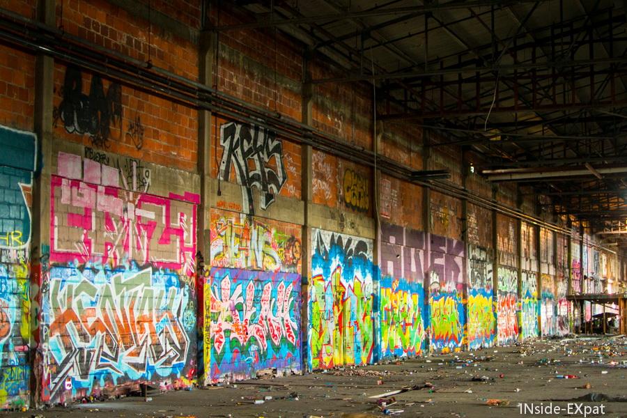 A l'intérieur de l'usine