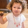 Mimi B., fan de chocolat