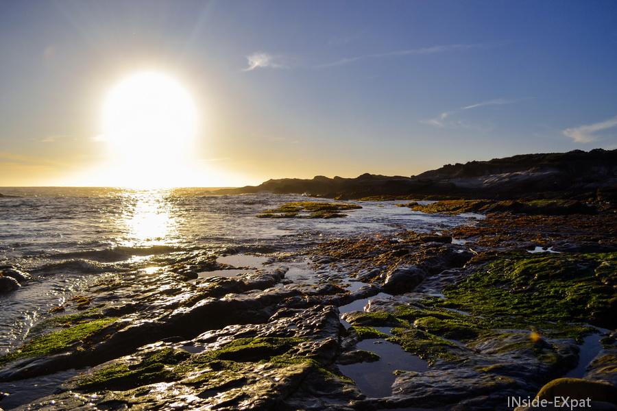 le soleil se couche à Point Lobos