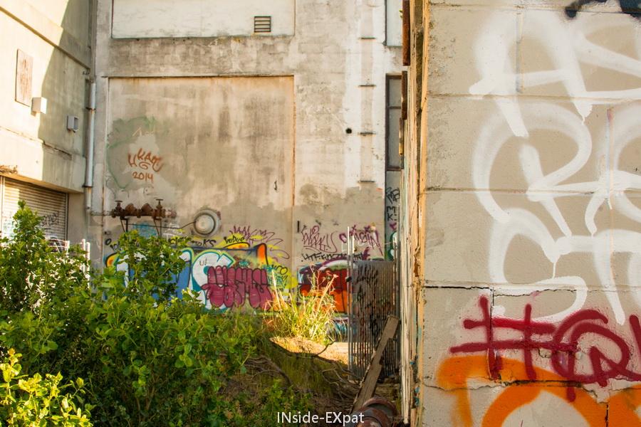 Graffiti à l'exterieur