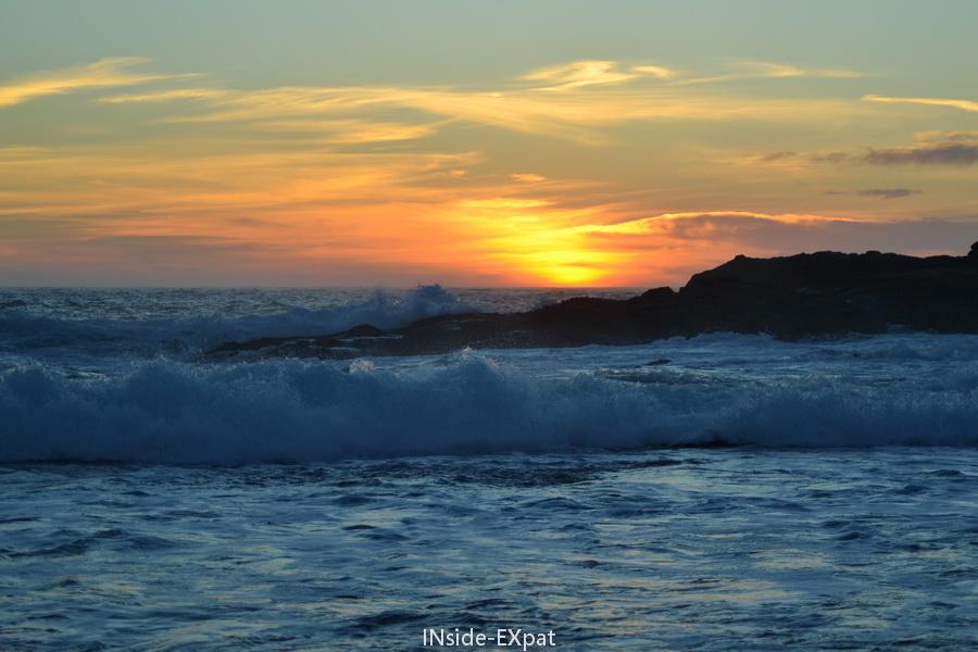 Coucher de soleil à Point Lobos