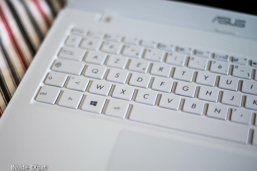Laptop blanc ASUS