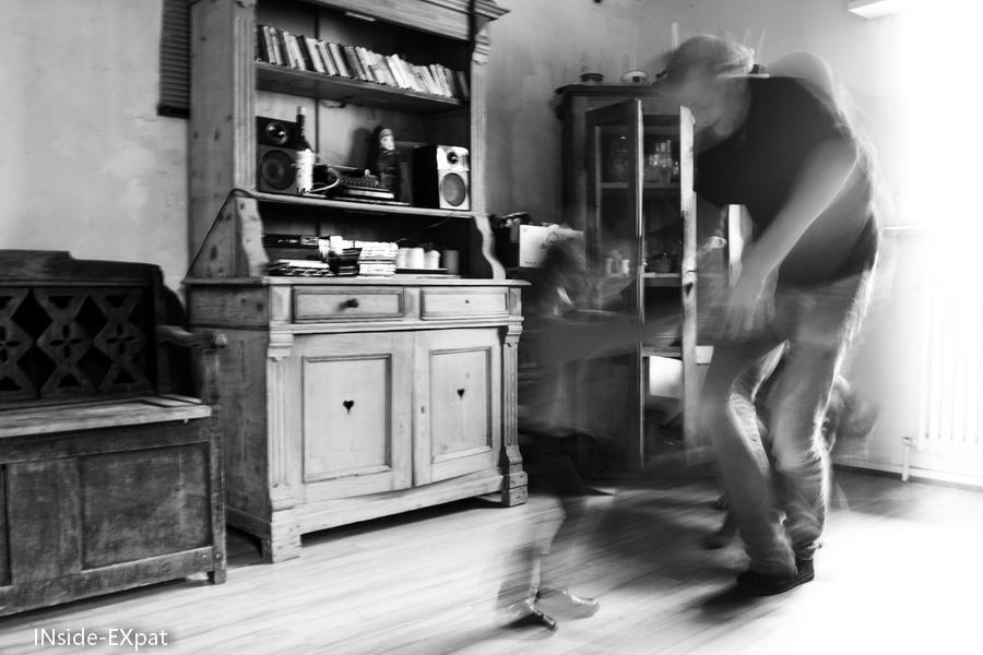 Papy C. et Mimi B. dansent