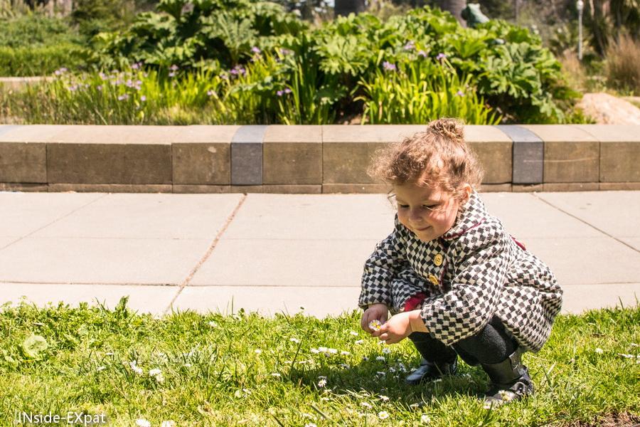 Mimi au Golden Gate Park