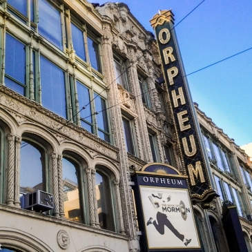 The Book of Mormon : quand Broadway s'invite au SHN Orpheum Theatre! (San Francisco, CA)