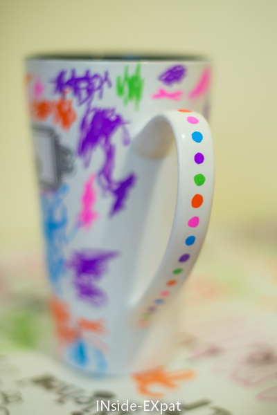 Connu Father's Day DIY: a mug personalized with kid drawing! | INside EXpat YW64