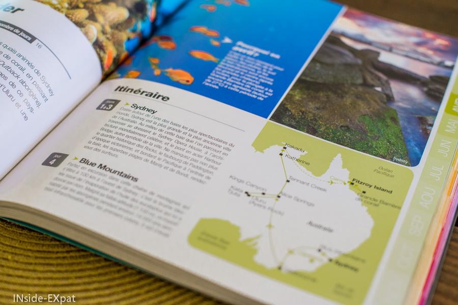 Des cartes claires pour comprendre l'itinéraire