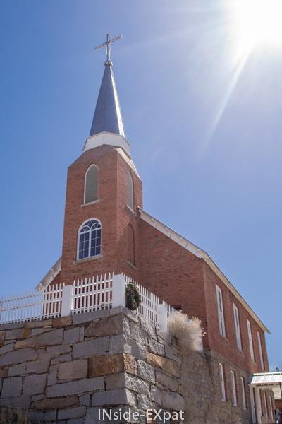 Eglise Ste Augustine, Austin, NV