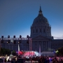 Light and music for the SF City Hall Centennial Celebration! (San Francisco, CA)