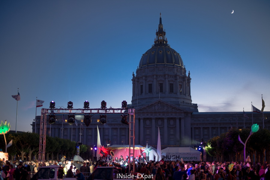 Light And Music For The SF City Hall Centennial Celebration! (San Francisco,  CA)