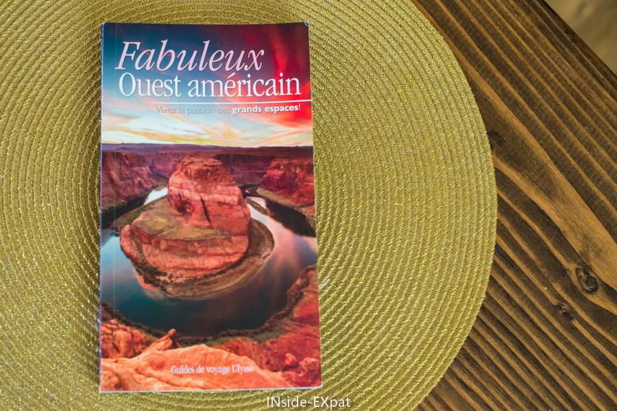 Guide Fabuleux ouest américain par les editions ulysse
