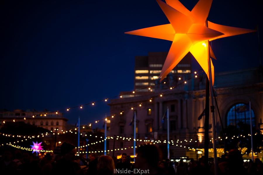 Centenaire lumineux pour le city hall