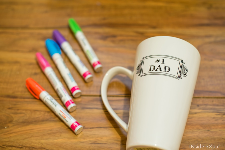 Préférence Father's Day DIY: a mug personalized with kid drawing! | INside EXpat WE04