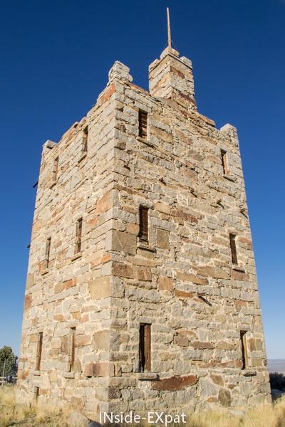 La tour appelée Stokes Castle