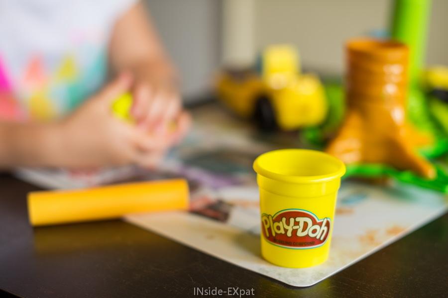 Le petit pot jaune de Play Doh