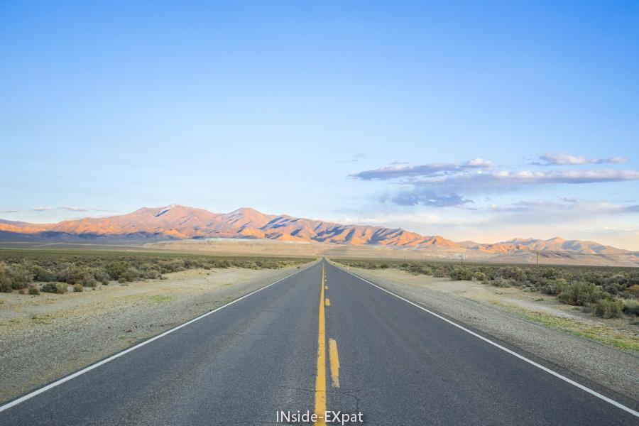 La route en road trip