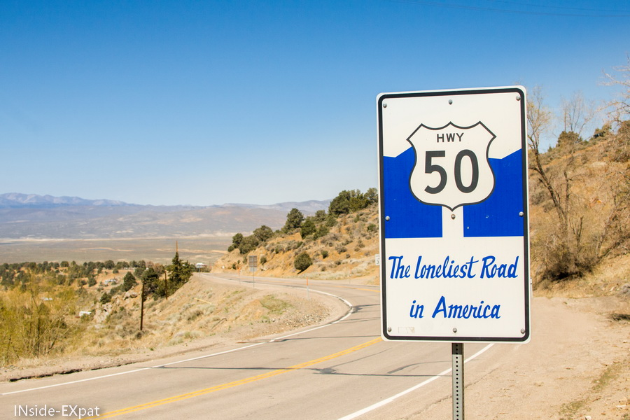 US50, the loneliest road in America