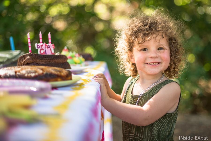 Mimi fête ses 3 ans en Californie