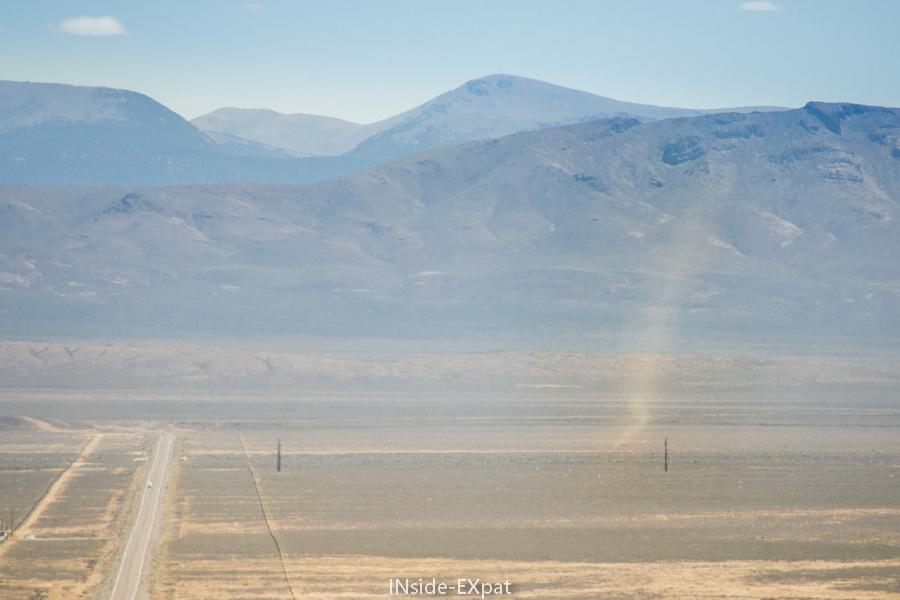 Tornade de sable en Nevada Central