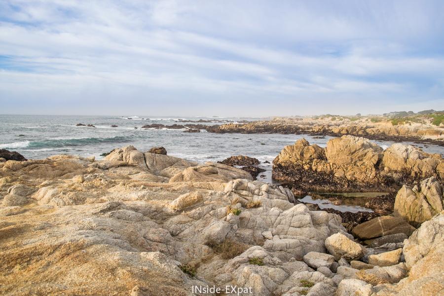 La côte pacifique en Californie