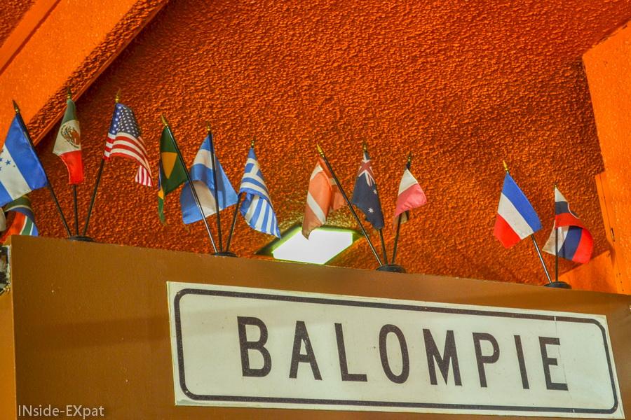 Balompié, manger salvadorien à SF