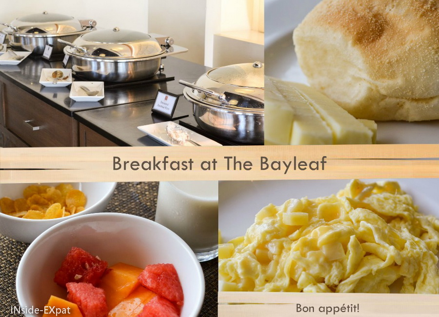 petit déjeuner - 9 spoons - bayleaf hotel - manila