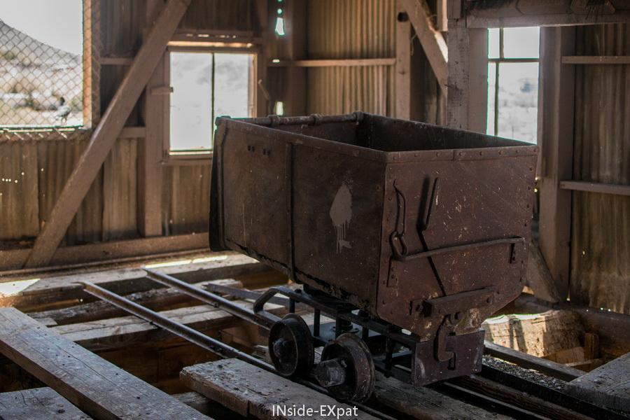 Un chariot comme figé dans le temps