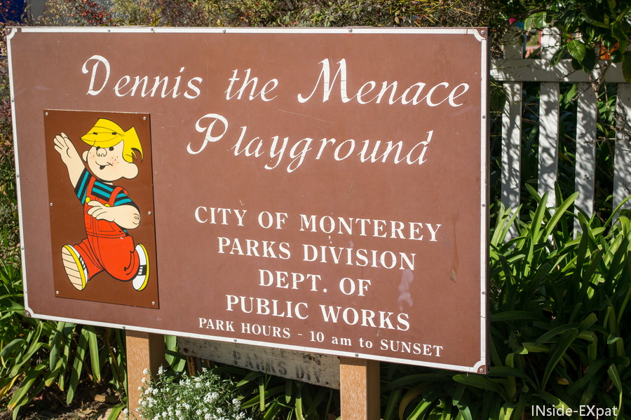 Dennis the Menace Playground, Monterey