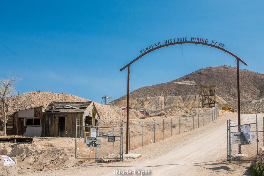 Entrée du Tonopah Historic Mining Park